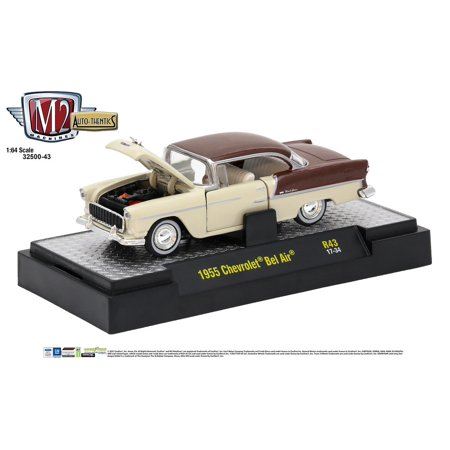 M2 Machines Auto Thenticss Release 43 1:64 1955 Chevrolet Bel (Bel Air Stores)