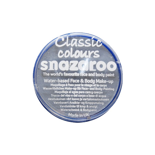SNAZAROO 18ML Light Gray FACE PAINT PAINTING MAKEUP