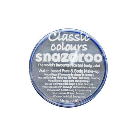 SNAZAROO 18ML Light Gray FACE PAINT PAINTING MAKEUP (Snazaroo Face Painting Kit Halloween)