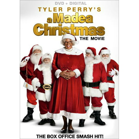 Tyler Perry's A Madea Christmas: The Movie (DVD + Digital) (List Of All The Halloween Movies)