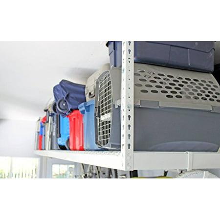Saferacks 2 4x8 Overhead Garage Storage Racks Heavy Duty 24 45