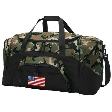 941a66be17 American Flag CAMO Duffel Bag - Walmart.com