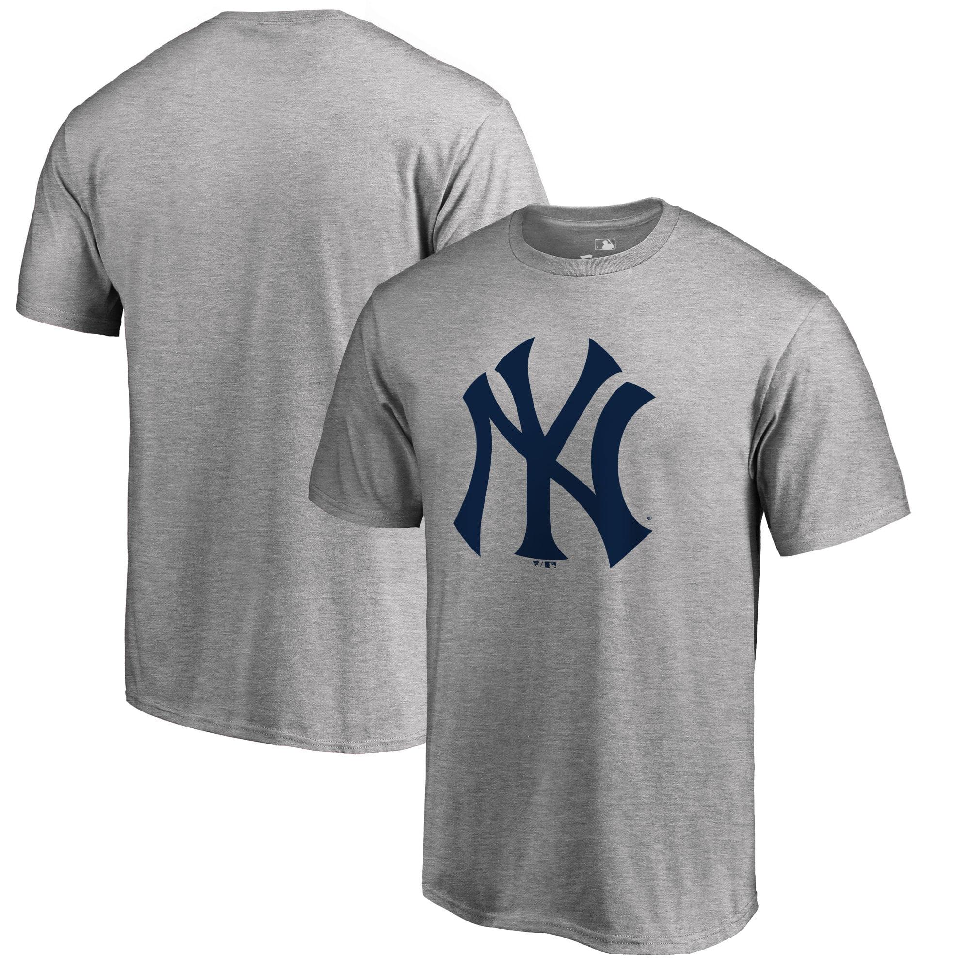 New York Yankees Big & Tall Primary Team Logo T-Shirt - Ash