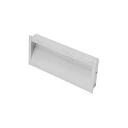 Jako 64 mm Flush Handle, Satin - Aluminum