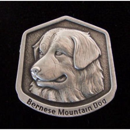 Bernese Mountain Dog Fine Pewter Dog Breed Ornament The sculpted image of your pet is surrounded with a wreath of holly and ivy. You will treasure this ornament for years to come. hey are made of Fine Pewter and come in a Christmas gift box for storing. Lindsay Claire is a Canadian manufacturer of Fine Pewter Gifts and Collectibles.  Each pewter item is cast in our shop from fine pewter and meticulously hand polished to a satin finish.Ornament is approximately 3  and has a satin cord attached for hanging.