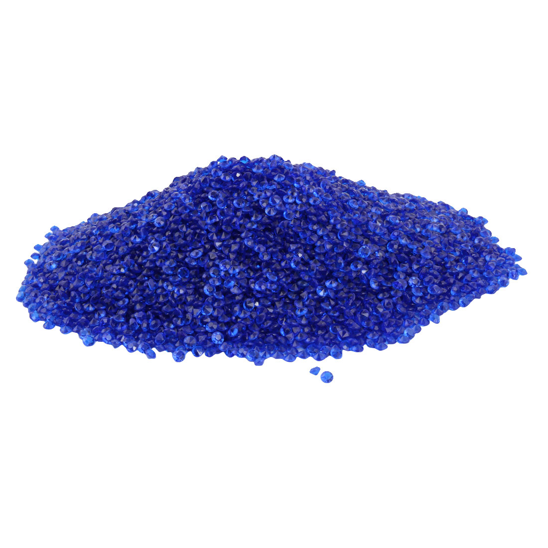 Plastic Crystal Confetti Wedding Party Decor Dark Blue 4.5mm Diameter 10000 Pcs