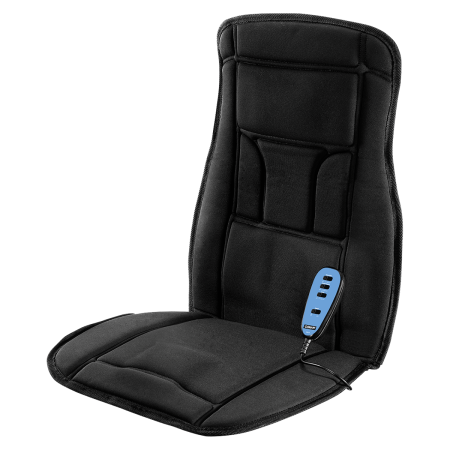 Motor Heated Massage Mat - Body Benefits Heated Massaging Seat Cushion
