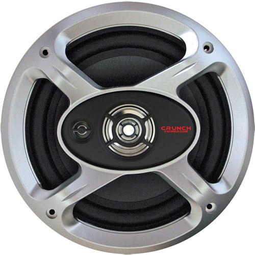 Maxxsonics Crunch Power One P1-653 Coaxial Speakers (Pair of Speakers)