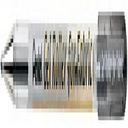 Gel Roller for Fabric, Bold 1.0 mm Tip, Permanent, Black Ink, 1 Pack