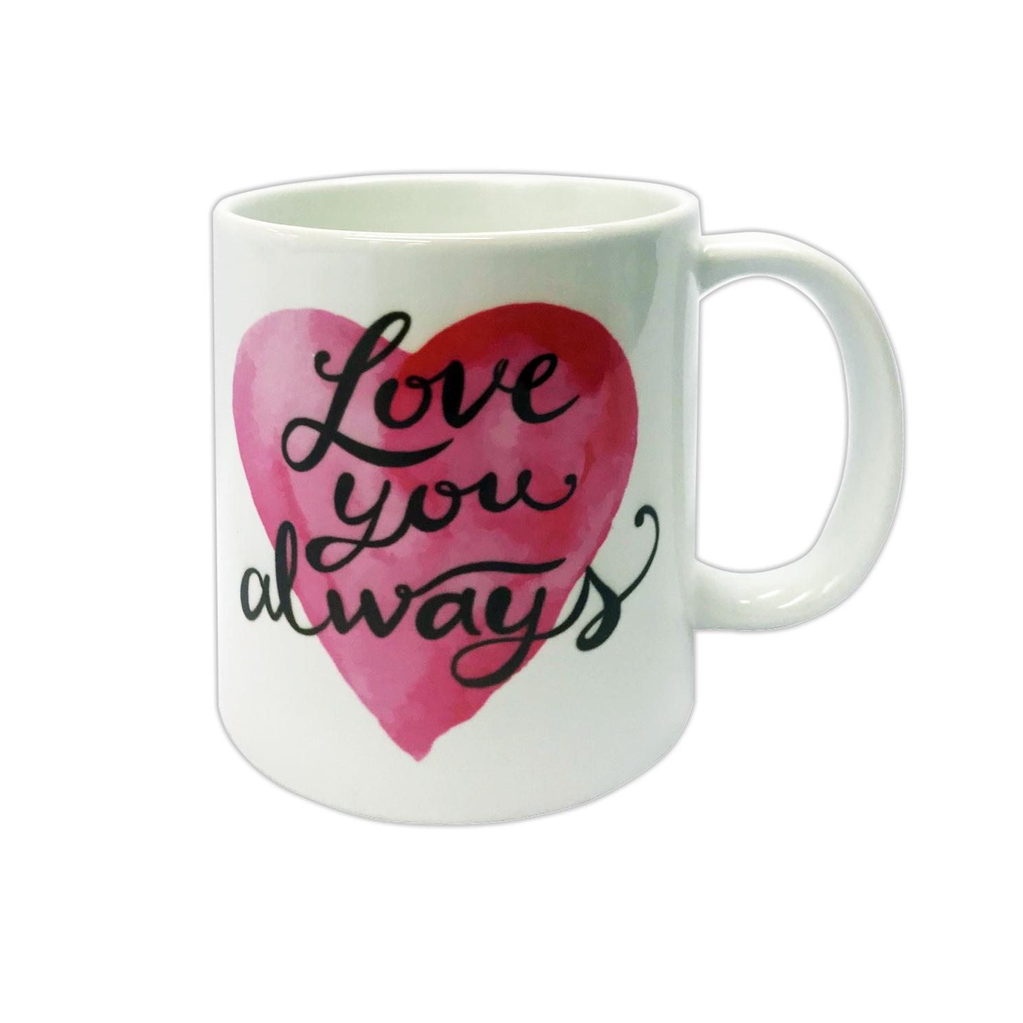 Valentine S Day Gift Coffee Mug Love You Always 11 Oz Walmart Com