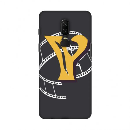 OnePlus 6 Case - Retro Film Strips- Y, Hard Plastic Back Cover, Slim Profile Cute Printed Designer Snap on Case with Screen Cleaning Kit (Photo Film Strip)