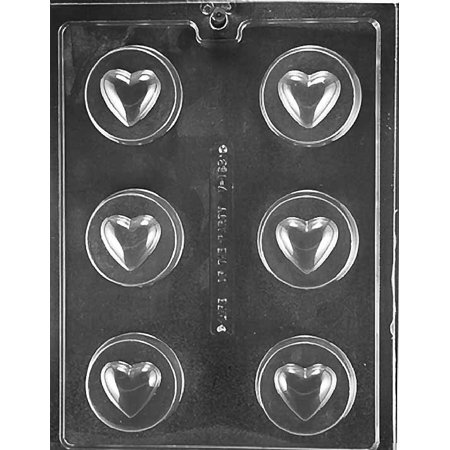 Heart Oreo Valentine Cookie Chocolate Mold Soap Candy Mould Party Favor m161 (Hot Chocolate Party Favor)