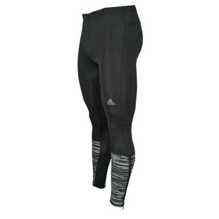 Adidas Supernova Glide (Mens adidas Supernova Reflective Graphic Long Tight, Black, X-Large)