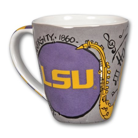 LSU Tigers 16oz Artwork Mug - No Size - Lsu Tigers Ceramic