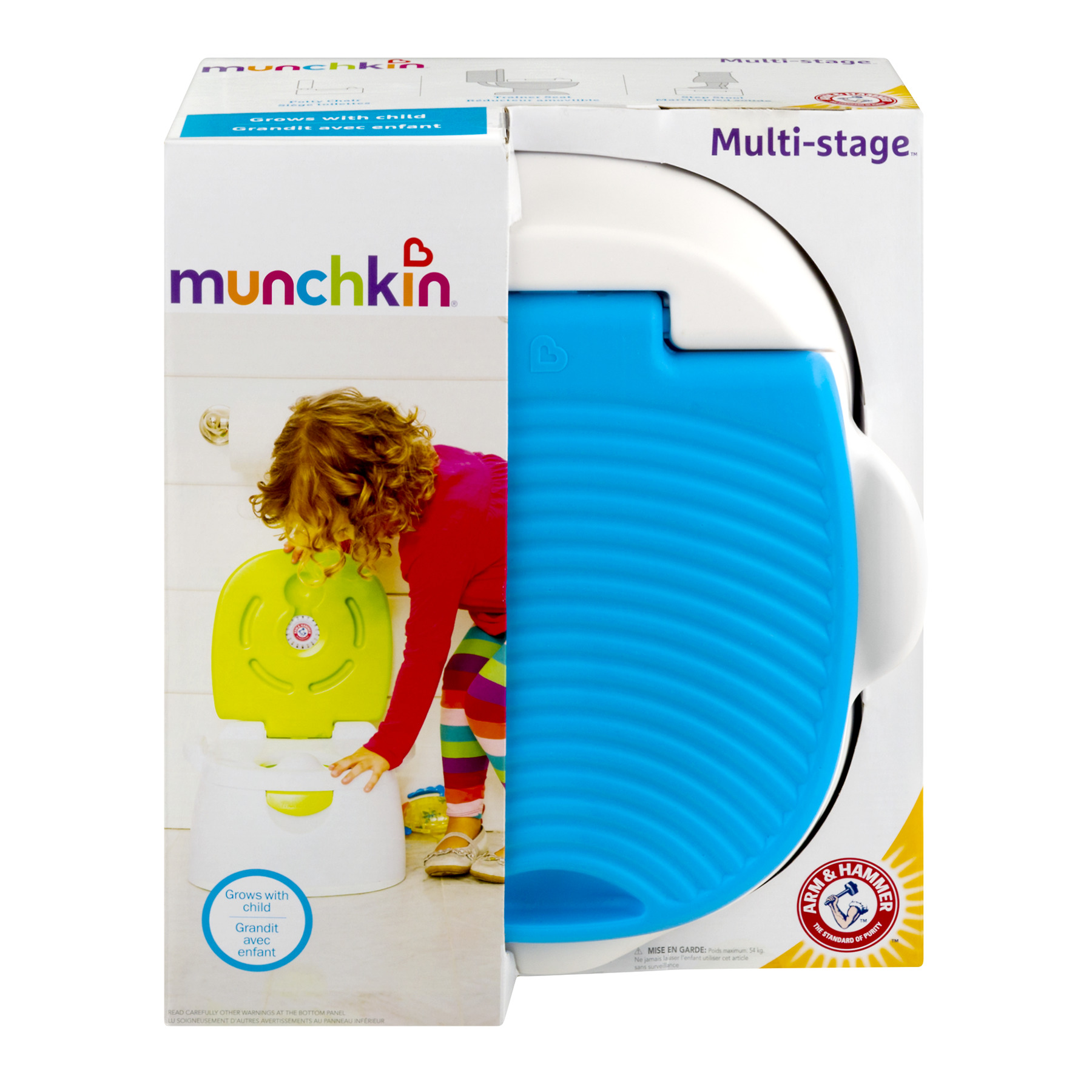 Munchkin Multi-Stage Toilet Trainer, 1.0 CT by Munchkin