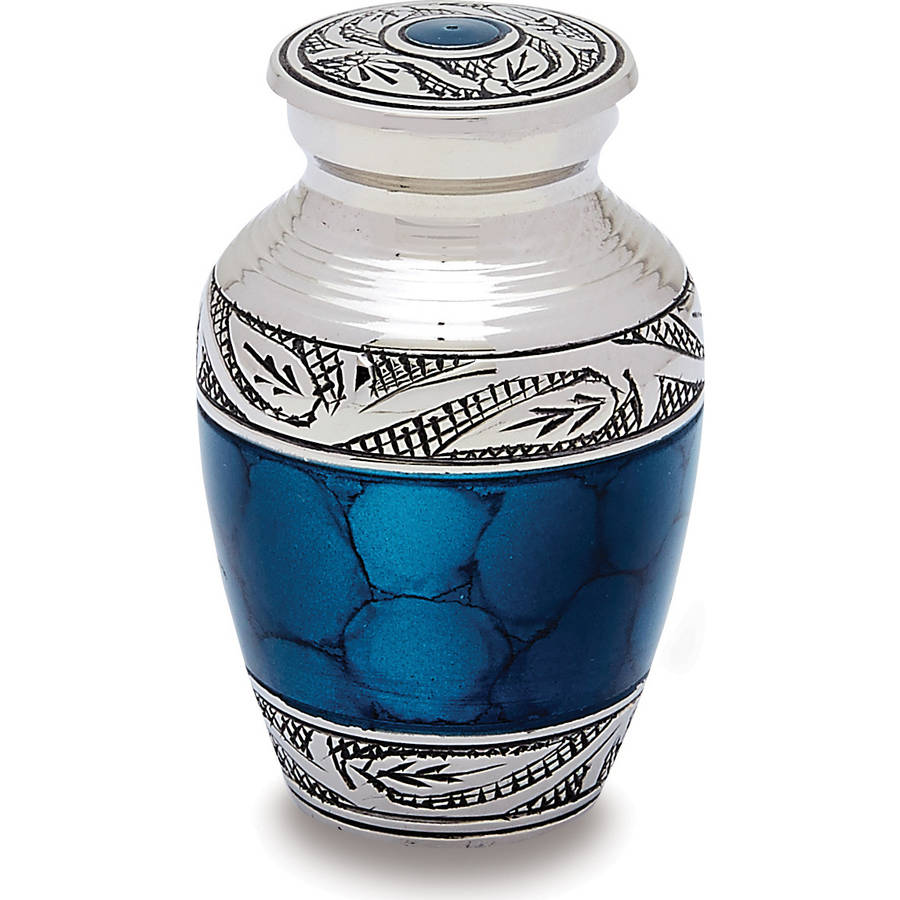 Urns Direct 2U Grecian Blue Token Urn, Set of 2