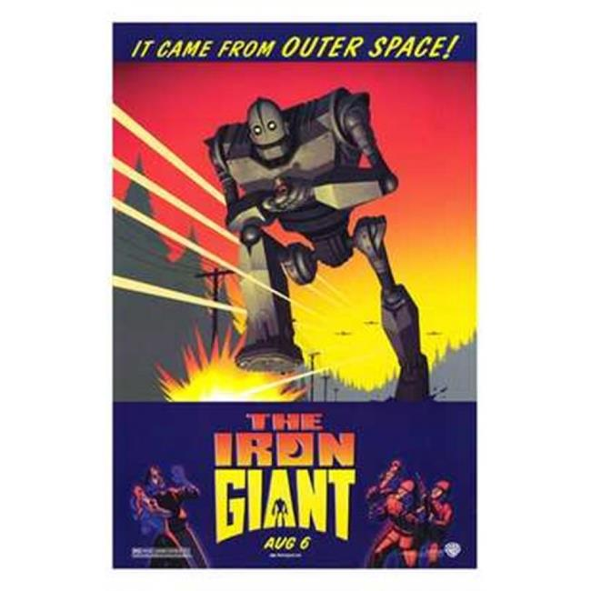 Pop Culture Graphics MOV192802 The Iron Giant Movie Poster, 11 x 17 - image 1 of 1