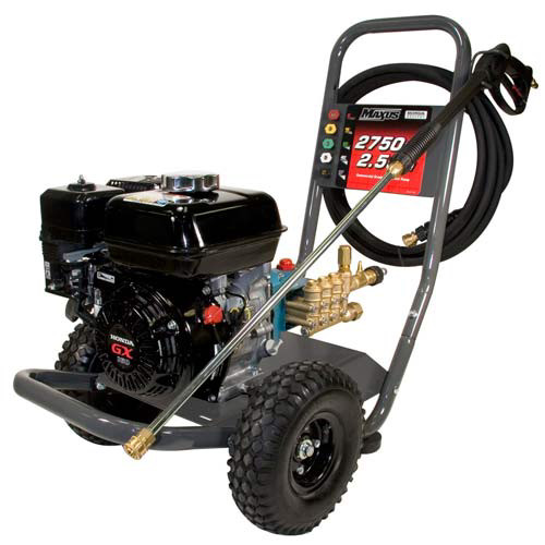 Maxus MX5223 2,750 PSI 2.5 GPM Gas Pressure Washer with Honda GX and CAT Pump