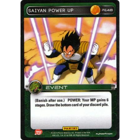 Dragon Ball Z CCG Set 1 Single Card Rare Saiyan Power Up R148 [Foil] Single Power Foil Card