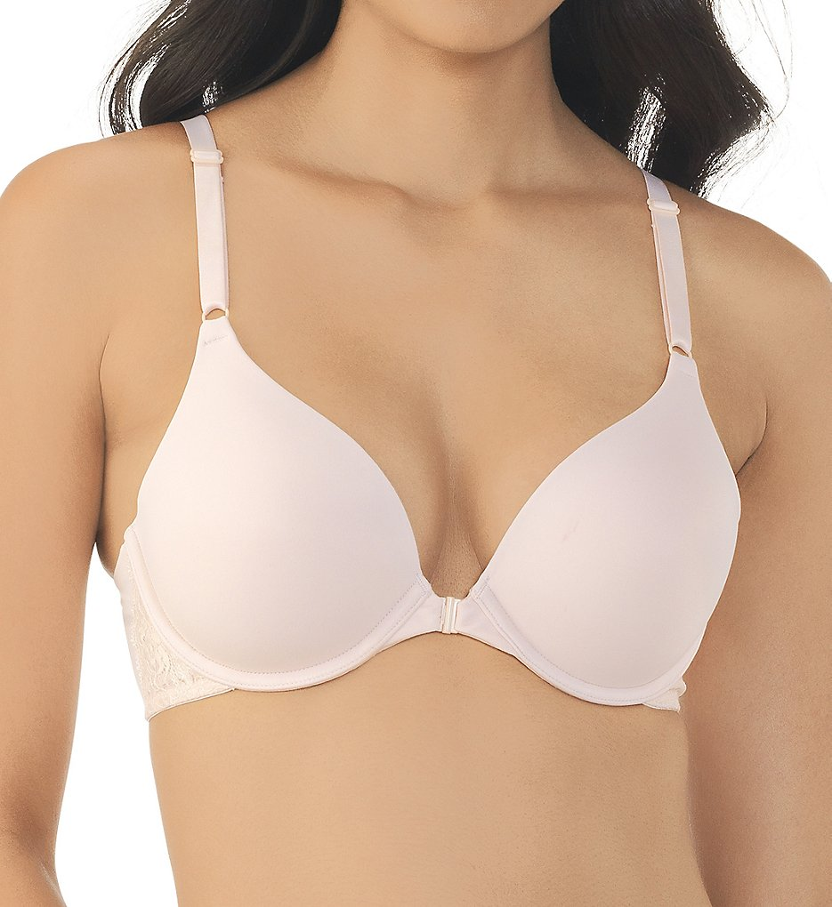 Vanity Fair 75212 Flattering Lift Front Closure Bra - Walmart