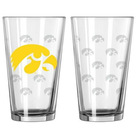 Iowa Hawkeyes Satin Etch Pint Glass Set - image 1 of 1