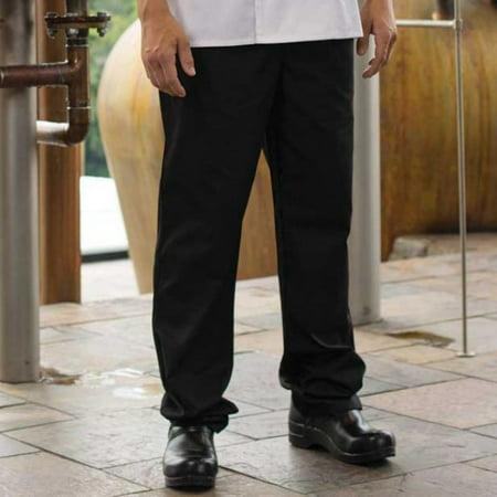 4e7c43d17f Black Executive Chef Pants by ChefsCloset (Size: S)