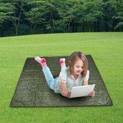 HURRISE AOTU Outdoor Portable Waterproof Tent Floor Mat Sleeping Pad for Camping Picnic, Camping Mat,Picnic Mat