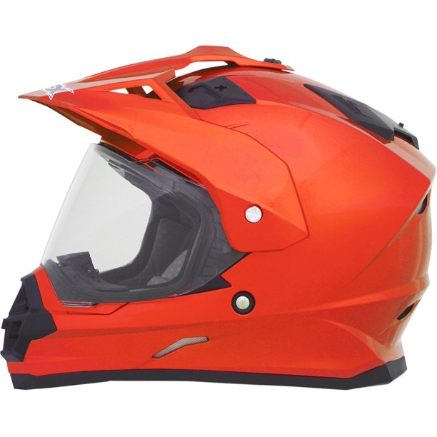 AFX FX-41 AT Dual Sport Helmet Black/Red/White Sm 0110