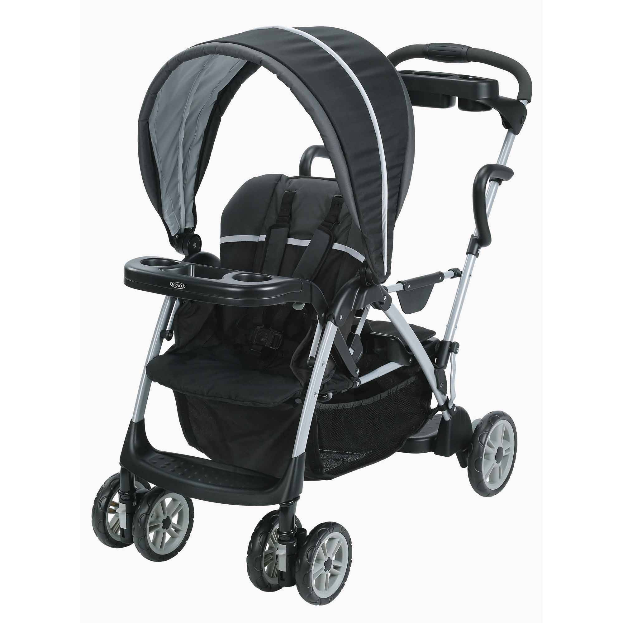 Graco Room For 2 Connect Stand & Ride Double Stroller Gotham Walmart