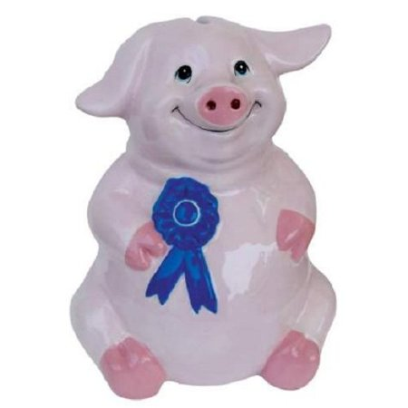 Giant Piggy Banks - Bank-imals Pig Coin Bank Piggy Bank by, Westland Giftware By Westland Giftware from USA