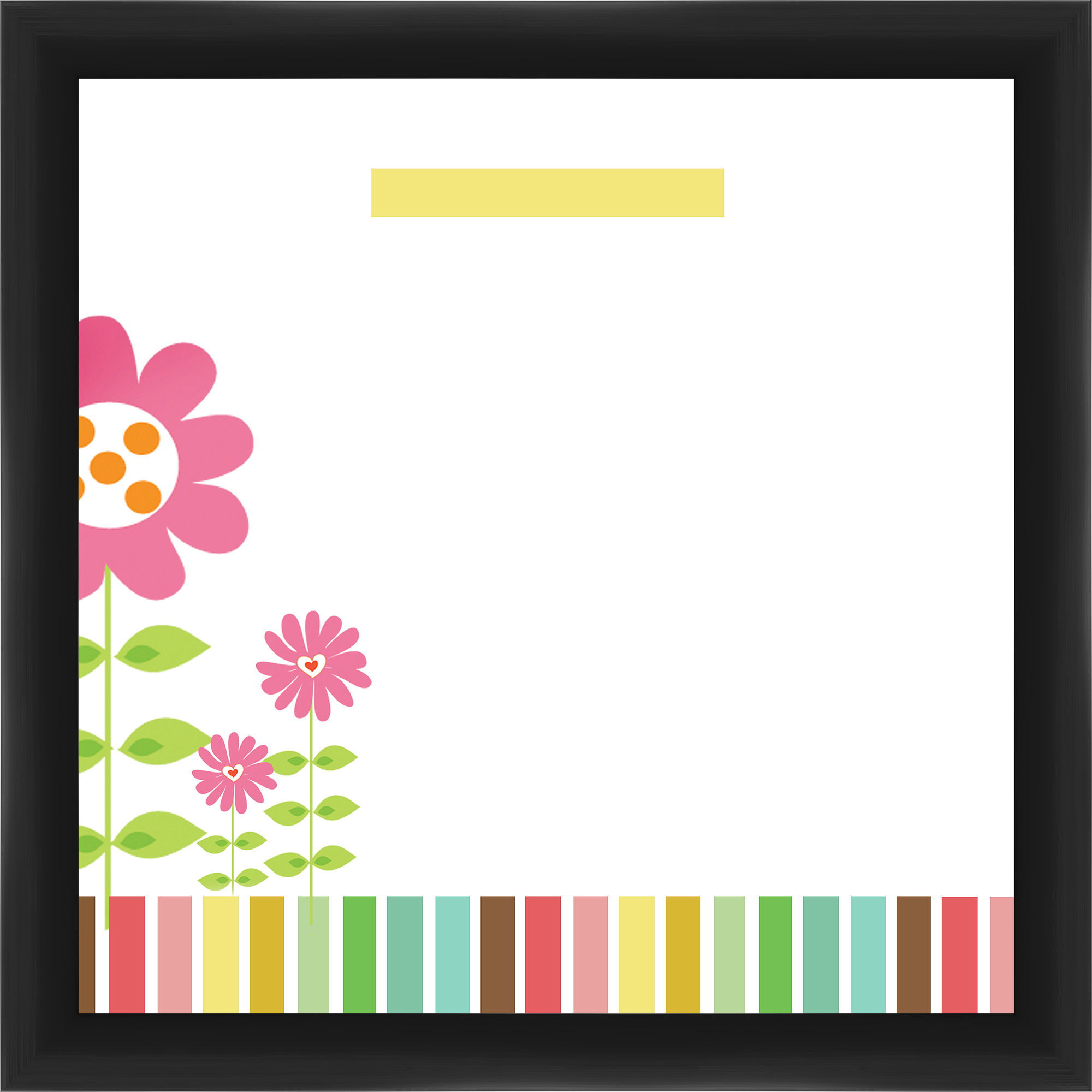 Sunflower Black Memoboard