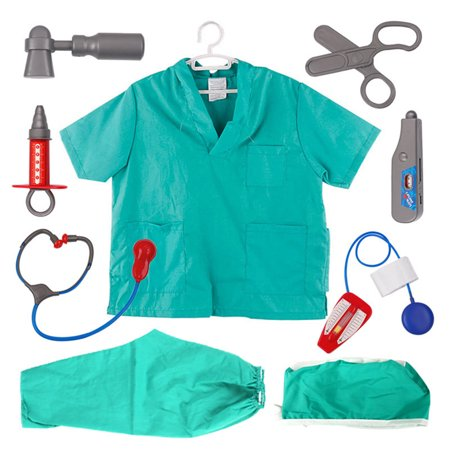 TopTie Doctor Nurse Role Play Set Dress Up Surgeon Costumes Set For Kids Great Gift - Dog Doctor Who Costume