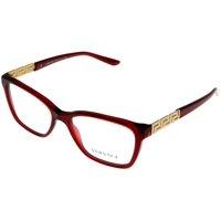 abaf8888e868 Product Image Versace Eyeglasses Frame Women VE3192B 388 Rectangular Red  Fashion