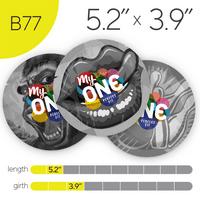 MyONE Condoms Size B77, 6-Count