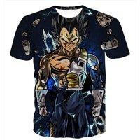 Vegeta Dragon Ball Z DBZ Compression T-Shirt Super Saiyan - 30