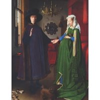 Black Paper Notebooks: Arnolfini Portrait Black Pages Notebook: Jan van Eyck - Stylish Large College Ruled Black Paper Journal to Write in - Northern Renaissance - Use with Gel & Ink Pens, Colored Pen