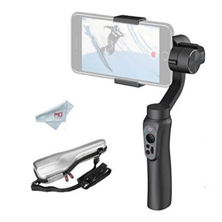 Zhiyun Smooth-Q 3-Axis Handheld Gimbal Stabilizer for Smartphone, i e   iPhone 7 Plus 6 Plus, Samsung S7 S6, Featuring APP Control, Vertical  Shooting,