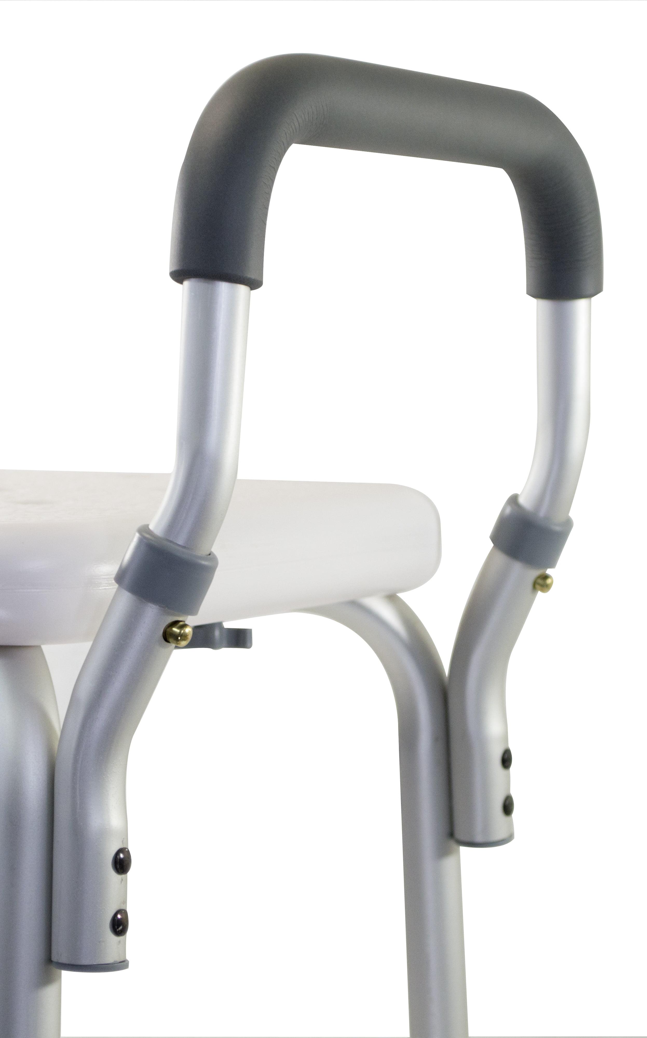 New Medical Supply Adjustable No Slip Shower Chair