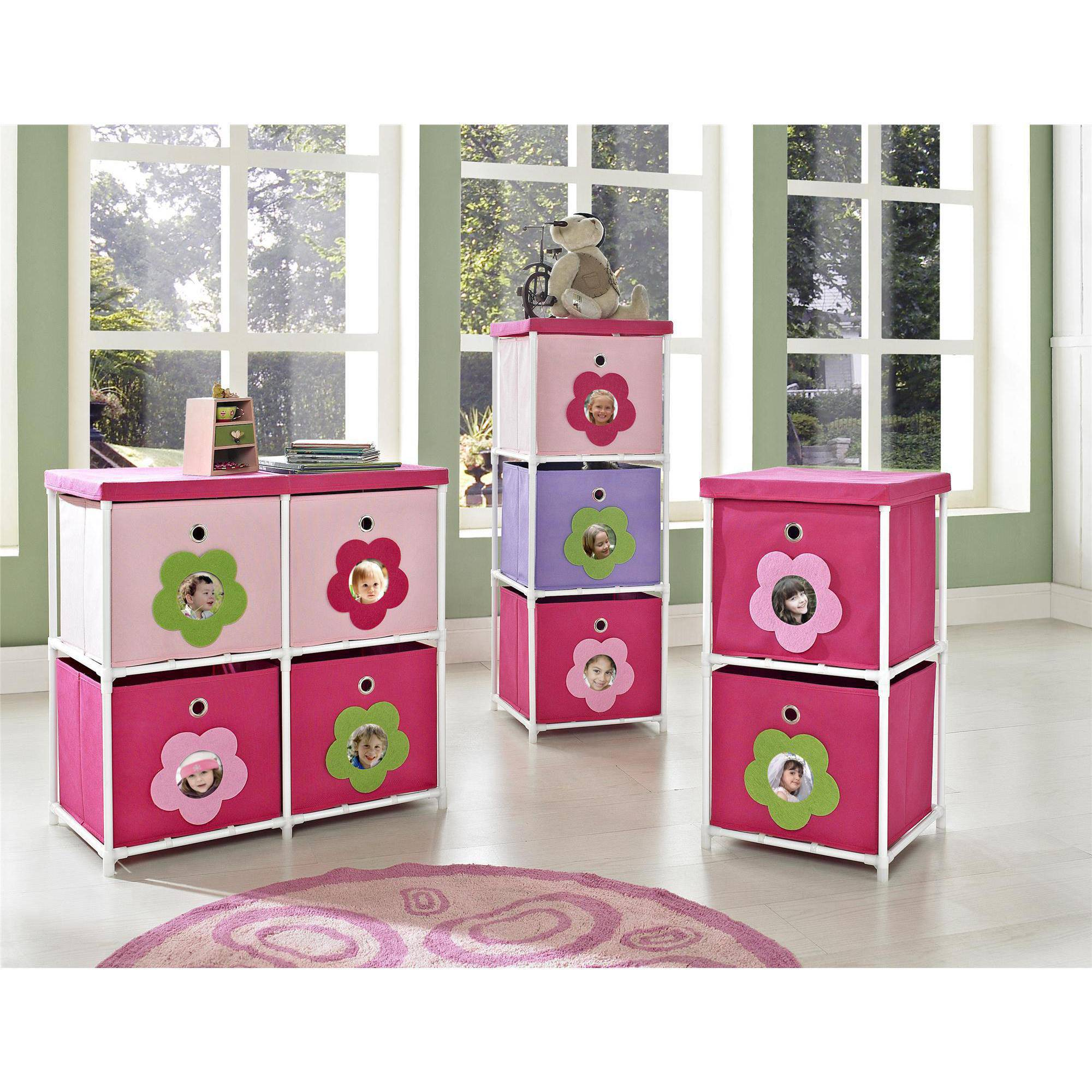 High Quality Altra Furniture Kidsu0027 Bin Storage Unit 12.99L 12.99W 36.02H   Walmart.com