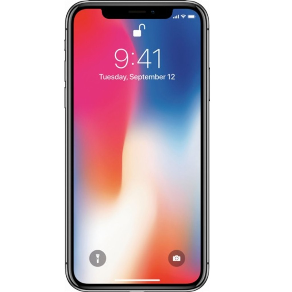 Refurbished Apple iPhone X 256GB, Space Gray - Unlocked LTE