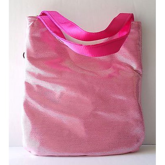 d508c8932 Sanrio Hello Kitty Face Metallic Pink Tote Hand Bag w/Pink Dot ...