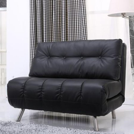 gold sparrow tampa black convertible big chair bed. Black Bedroom Furniture Sets. Home Design Ideas