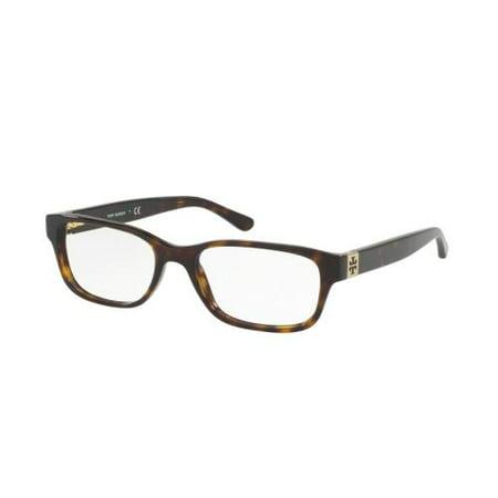 Tory Burch Eyeglasses Ty2067 1378 Dark Tortoise 50Mm