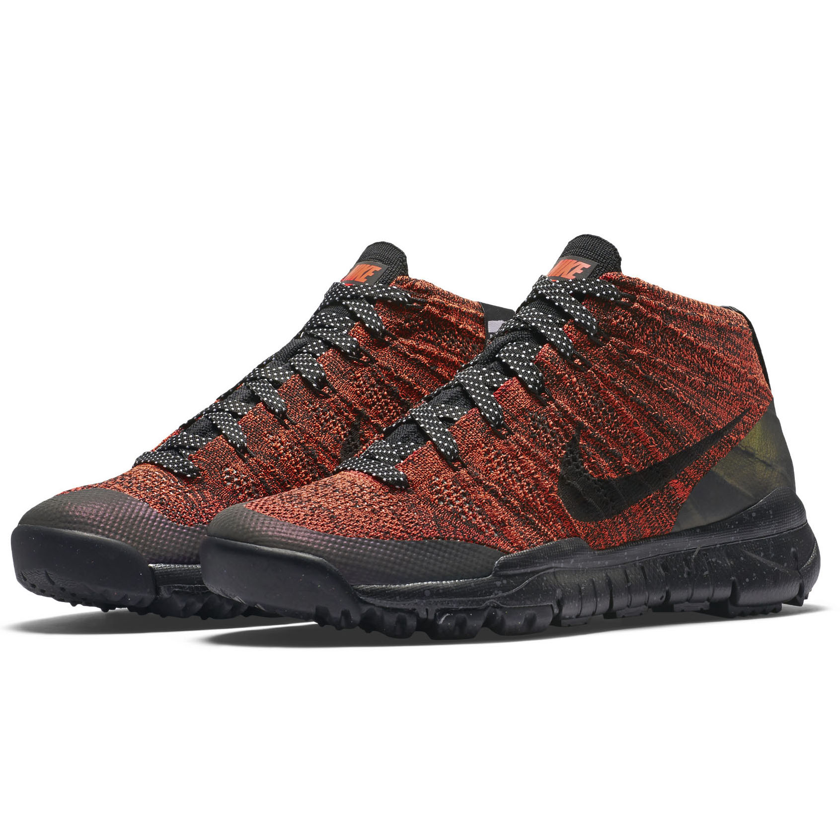 finest selection 81f36 d56cb ... aliexpress nike womens w flyknit trainer chukka fsb bright crimson  black sequoia fabric size 8.5 3ee39