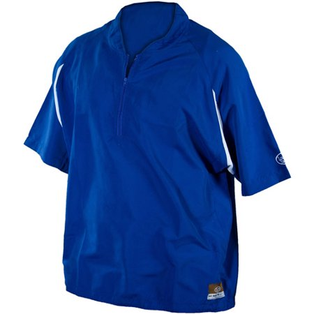 Louisville Slugger Youth Slugger Batting Cage Pullover with 1/4 Zip, Royal
