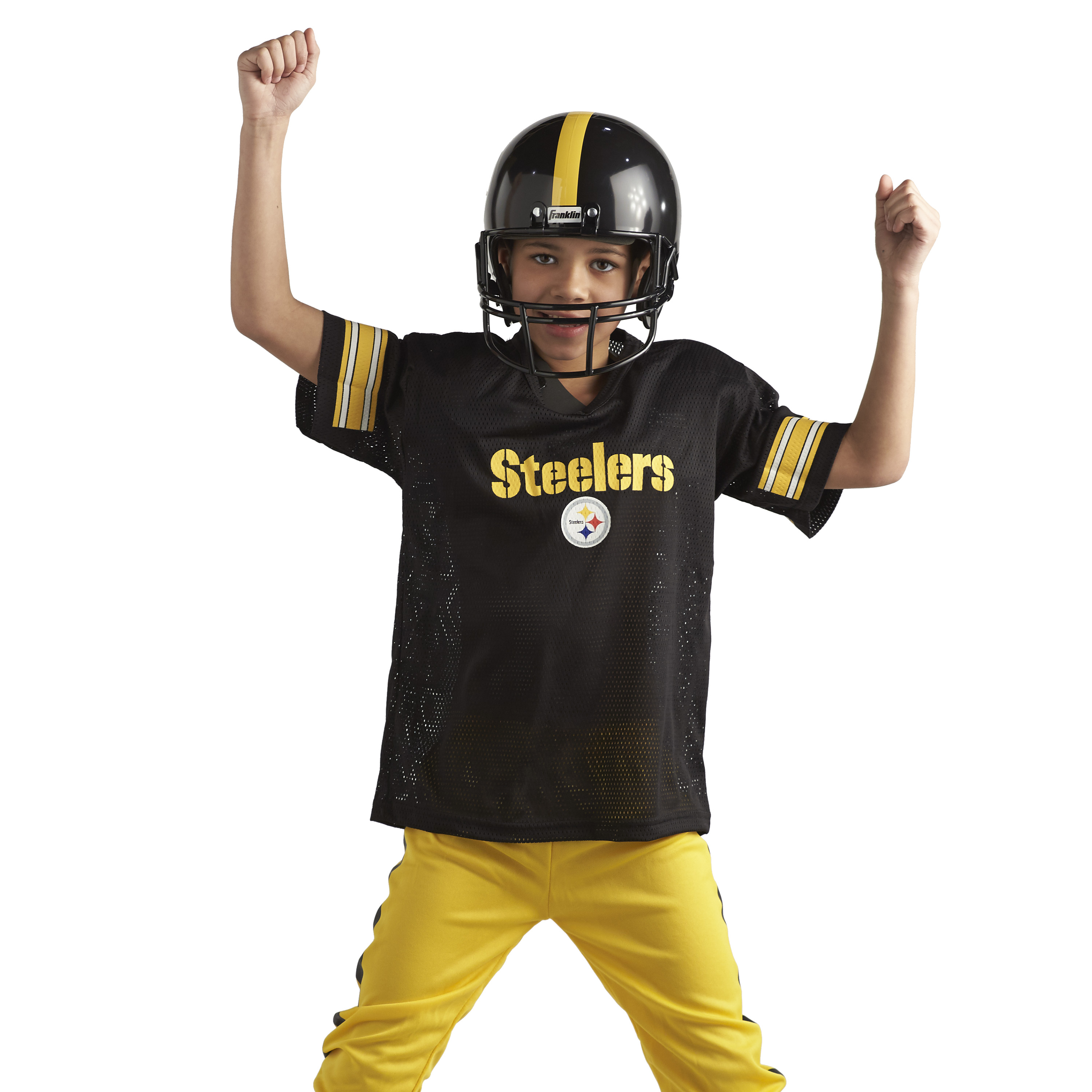 Franklin Sports NFL Youth Deluxe Uniform Costume Football Set (Choose Team  and Size) - Walmart.com 017513a3c