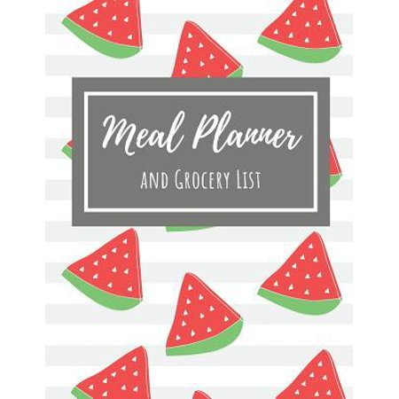 Meal Planner and Grocery List: Track and Plan Your Meal Weekly 100 Week Food Planner (Volume 9) (Week Of Healthy Meals And Grocery List)