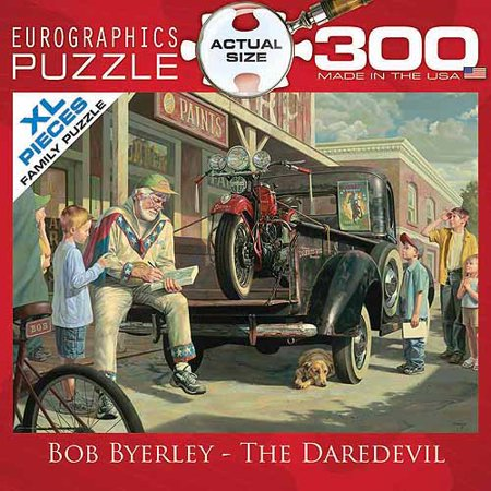 EuroGraphics The Daredevil by Bob Byerley 300-Piece Puzzle, Small Box
