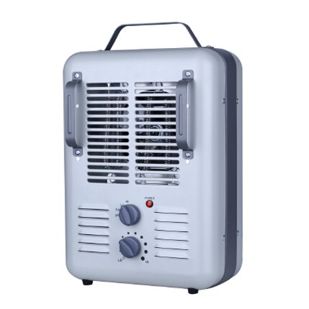 Electric greenhouse heater automatic thermostat portable space small heat garage ebay - Small portable space heater paint ...