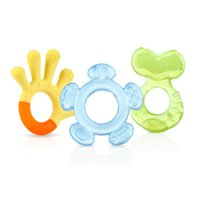 Nuby 3 Stage Teether Set, 3 Pieces